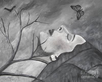 Painting - Sweet Dreams by Iris  Mora