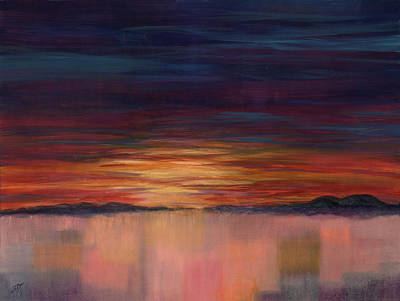 Painting - Sweet Dreams by Jini Patel Thompson - JPT ART