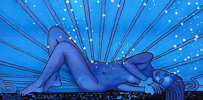 Sweet Dreams Art Print by Mario Labonte