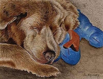 Painting - Sweet Dreams My Friend by Joy Bradley