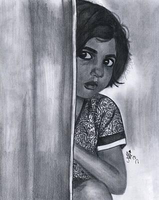 Sweet Girl Art Print