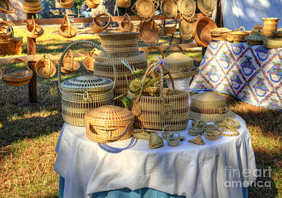 Photograph - Sweet Grass Baskets by Kathy Baccari