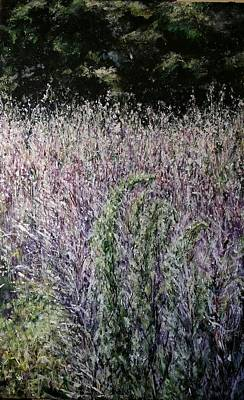 Painting - Sweet Grass by Brenda Berdnik