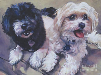 Sweet Havanese Art Print by Lee Ann Shepard