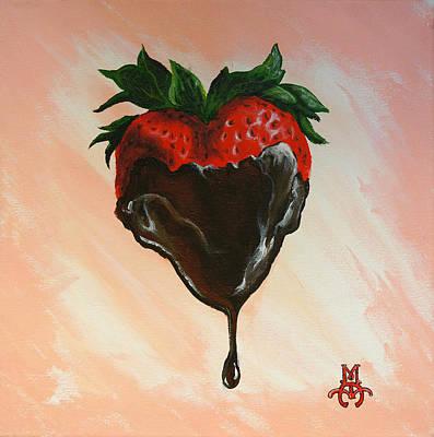 Sweet Heart Art Print by Marco Antonio Aguilar