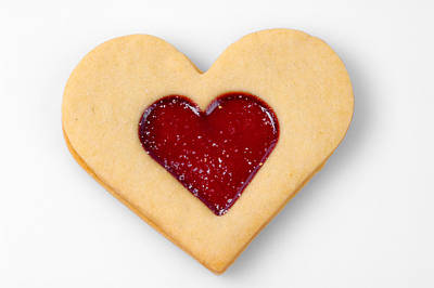 Valentine Photograph - Sweet Heart - Symbol For Love Valentine Relationship by Matthias Hauser