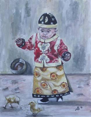 Painting - Sweet Innocence by Kim Selig