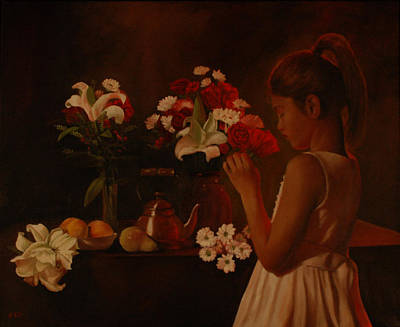 Painting - Sweet Innocence by Rick Fitzsimons