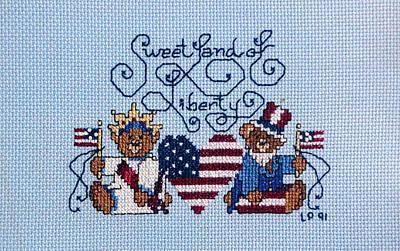 Sweet Liberty Art Print by Linda Phelps