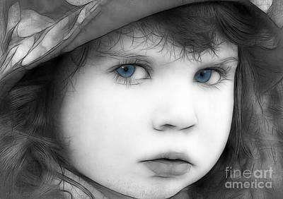 Photograph - Sweet Little Blue Eyes by Kathy Baccari