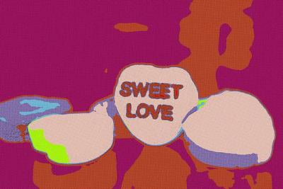Painting - Sweet Love Candy by Florian Rodarte