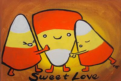 Painting - Sweet Love by Marisela Mungia