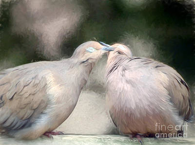 Photograph - Sweet Love Of Doves by Kerri Farley
