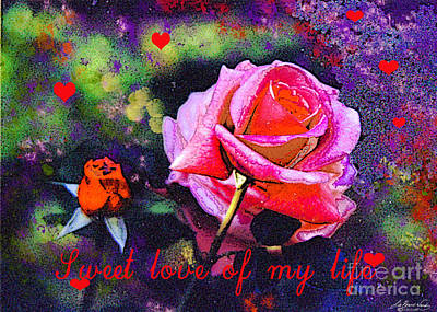 Digital Art - Sweet Love Of My Life by Lizi Beard-Ward