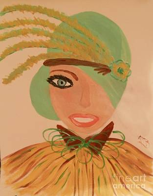 Sweet Mary Of The Sun Art Print by Marie Bulger