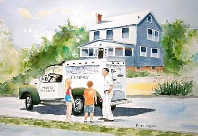 Sweet Memories  Print by Brian Degnon