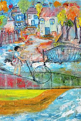 Sweet Memories Art Print by Evelina Popilian