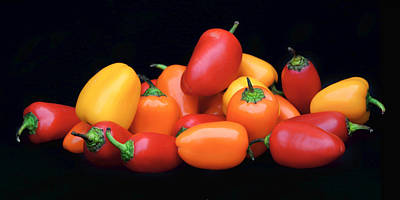 Photograph - Sweet Mini Peppers by Nikolyn McDonald
