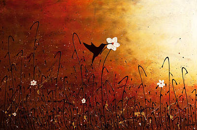 Sweet Nectar Print by Carmen Guedez
