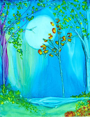 Painting - Sweet Night by Kelly Dallas