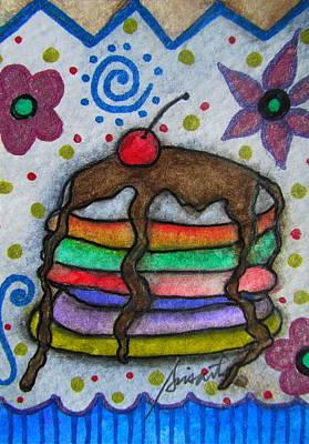 Painting - Sweet Pancakes by Pristine Cartera Turkus
