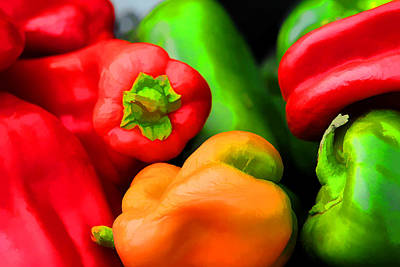 Photograph - Sweet Peppers by Brian Davis