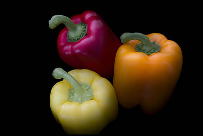 Kitchen Photograph - Sweet Peppers by Mark McKinney