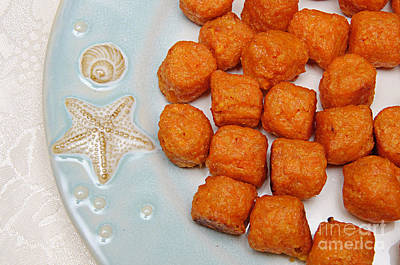 Spuds Photograph - Sweet Potato Puffs by Andee Design