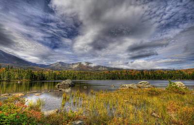 Maine Mountains Digital Art - Sweet Serenity by Sharon Batdorf