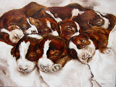 Painting - Sweet Sleep by Diane Kraudelt