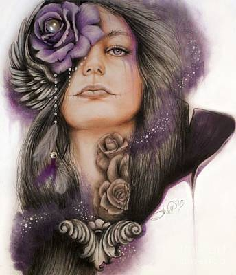 Drawing - Sweet Sorrow by Sheena Pike
