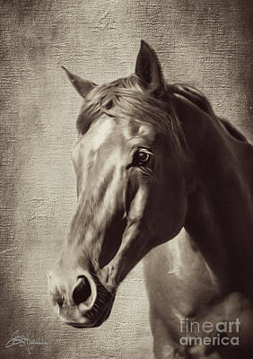 Forelock Digital Art - Sweet Soul by Jacque The Muse Photography