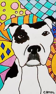 Drawing - Sweet Spot Pit by Carol Hamby