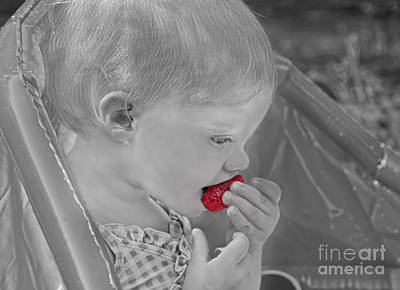 Photograph - Sweet Strawberry by Valerie Garner