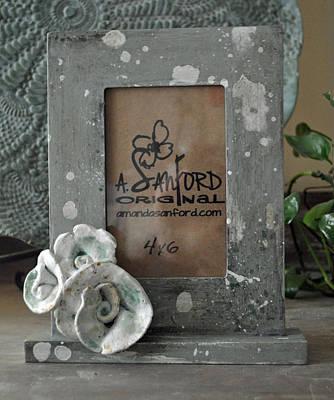 Sweet Sucrose Frame Art Print by Amanda  Sanford