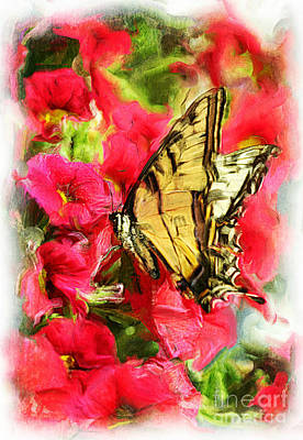 Sweet Swallowtail Art Print