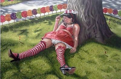 Sweet Tastes Original by Kenneth Browne