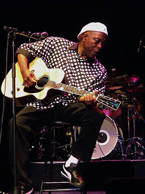 Photograph - Sweet Tea Buddy Guy by Iconic Images Art Gallery David Pucciarelli