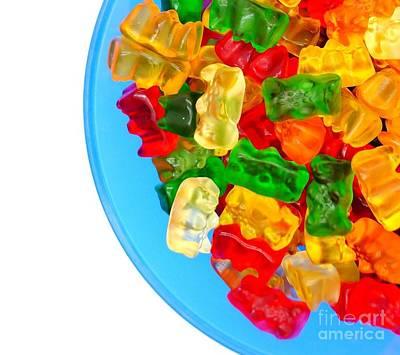 Gummi Candy Photograph - Sweet Temptation  by Andrea Rea