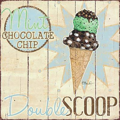 Ice Cream Painting - Sweet Treat Signs I by Paul Brent