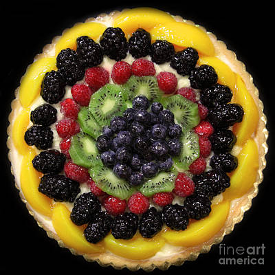 Sweet Treats - Fruit Cake - 5d20920 - Square Art Print by Wingsdomain Art and Photography