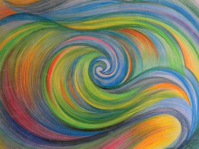 Sweet Waves Art Print