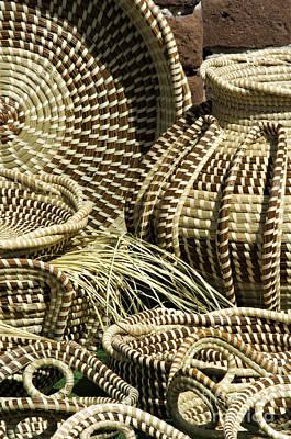 Sweetgrass Baskets - D002362 Art Print by Daniel Dempster