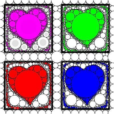 Hearts Digital Art - Sweetheart by Cindy Edwards