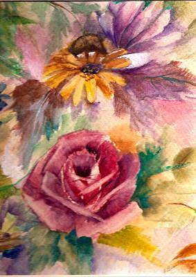 Sweetness Art Print by Ellen Canfield