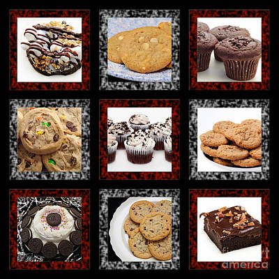 Photograph - Sweets For The Sweet Tic Tac Toe 2 by Andee Design