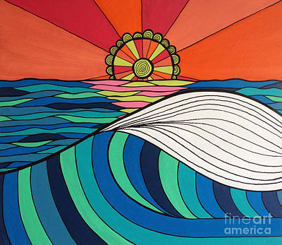Nautical Digital Art - Swept Away By You by Susan Claire