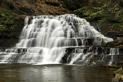 Gentle Cascades Photograph - Swept Away by Christina Rollo