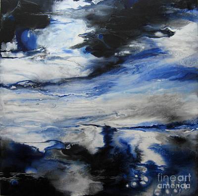 Swept Away I Art Print by Elis Cooke