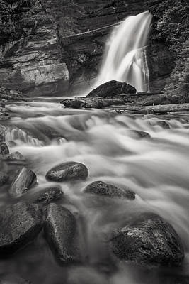 Waterfalls And Trees Landscape Photograph - Swept Away by Jon Glaser